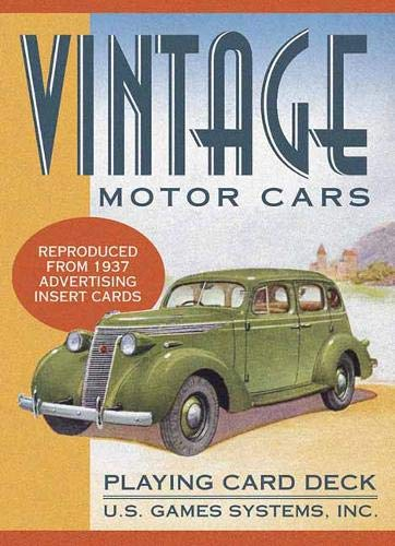9781572816183: Vintage Motor Cars Playing Card Deck