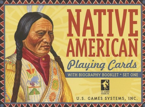 9781572816190: Native American Playing Cards Set One