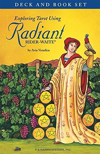 9781572818101: Exploring Tarot Using Radiant Rider-waite Tarot: Deck & Book Set