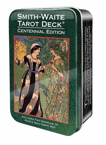 Smith-Waite Centennial Tarot Deck in a Tin: Arthur Edward Waite