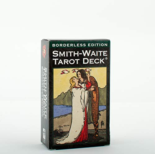 Smith-Waite Tarot Deck Borderless: Arthur Edward Waite