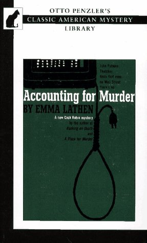 9781572830004: Accounting for Murder (Otto Penzler's Classic American Mystery Library)