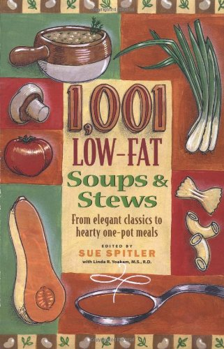 9781572840348: 1001 Low-fat Soups and Stews