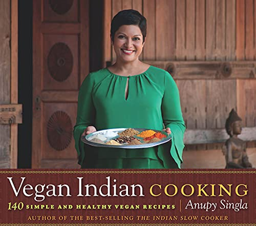 9781572841307: Vegan Indian Cooking: 140 Simple and Healthy Vegan Recipes