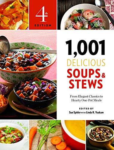 9781572841611: 1,001 Delicious Soups and Stews: From Elegant Classics to Hearty One-Pot Meals