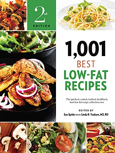 9781572841697: 1,001 Best Low-Fat Recipes: The Quickest, Easiest, Tastiest, Healthiest, Best Low-Fat Recipe Collection Ever