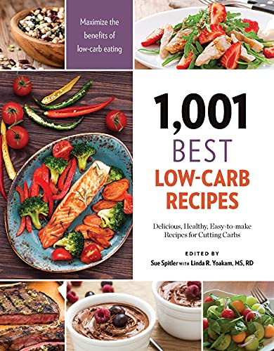 9781572841840: 1,001 Best Low-Carb Recipes: Delicious, Healthy, Easy-to-make Recipes for Cutting Carbs