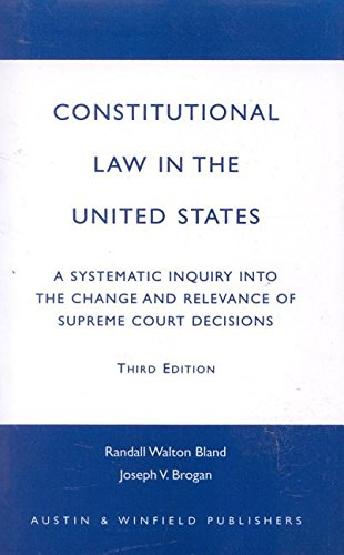 9781572920903: Constitutional Law in the United States
