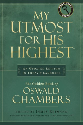 9781572930377: My Utmost for His Highest (Easy Print Books)