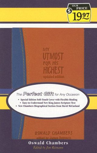 My Utmost for his Highest: Youth/Teen Cover: Oswald Chambers