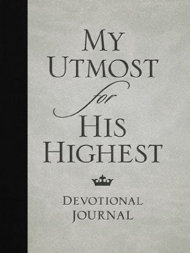 9781572937581: My Utmost for His Highest Devotional Journal
