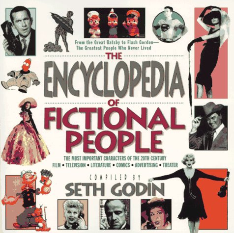 9781572970731: Encyclopedia of fictional people: the most imp, th