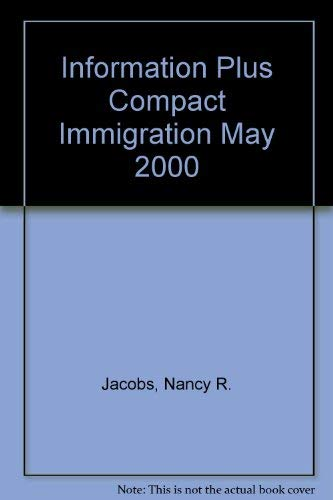 9781573021210: Information Plus Compact Immigration May 2000