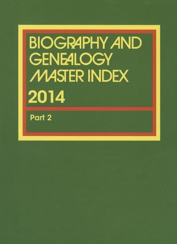 9781573022262: Biography and Genealogy Master Index Supplement 2014: Volume 2