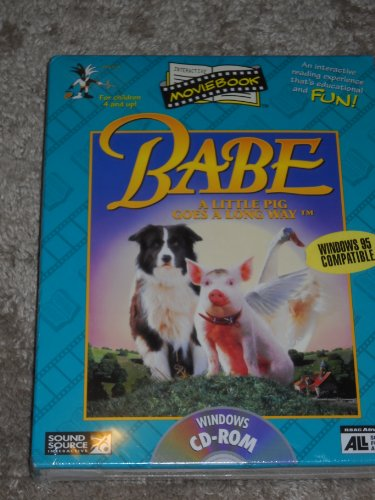 9781573030281: Babe: A Little Pig Goes a Long Way-Windows CD-ROM (Interactive Movie Book)