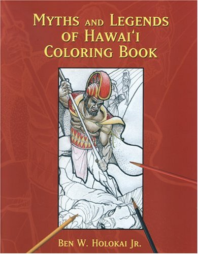 9781573062121: Myths and Legends of Hawai'i Coloring Book