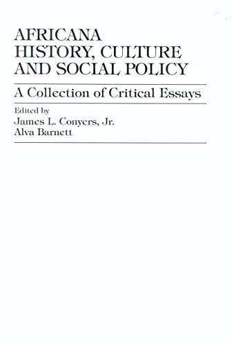 Africana History, Culture and Social Policy: Conyers Jr., James