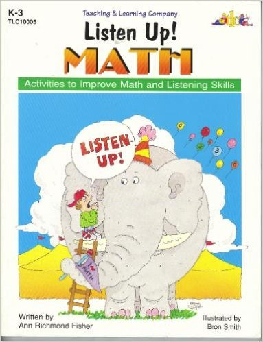 9781573100052: Listen Up! Math; Activities to Improve Math and Listening Skills (Listen Up! Series)