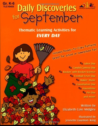 9781573104531: Daily Discoveries for September: Thematic Learning Activities for Every Day