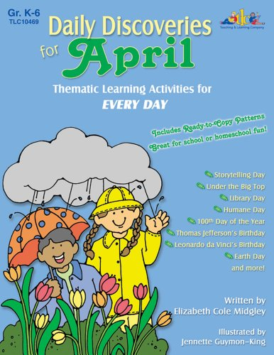9781573104692: Daily Discoveries for April: Thematic Learning Activities for Every Day
