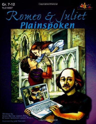 9781573105071: Romeo & Juliet: Plainspoken