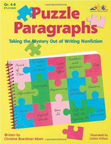 9781573105224: Puzzle Paragraphs: Taking the Mystery Out of Writing Nonfiction