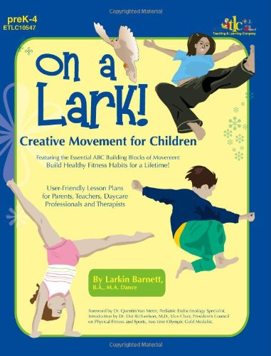 9781573105477: On a Lark!: Creative Movement for Children