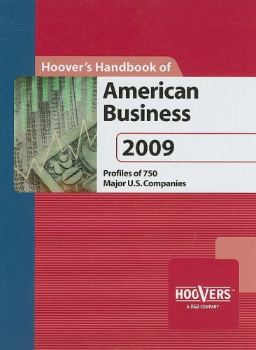 9781573111270: Hoover's Handbook of American Business 2009