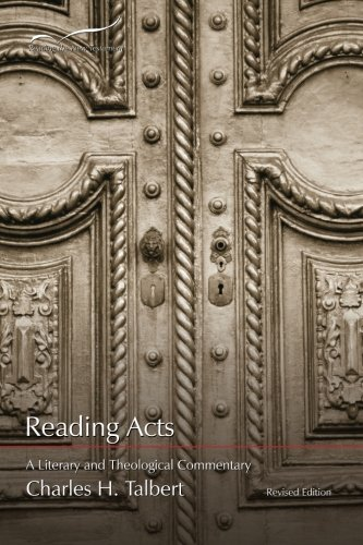 9781573122771: Reading Acts: A Literary and Theological Commentary (Reading the New Testament) (Volume 5)