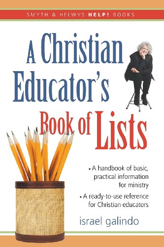 9781573123471: A Christian Educator's Book of Lists (Smyth & Helwys HELP! Books)