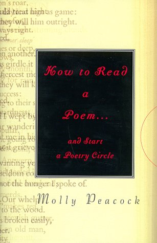 9781573221283: How To Read a Poem.and Start a Poetry Circle