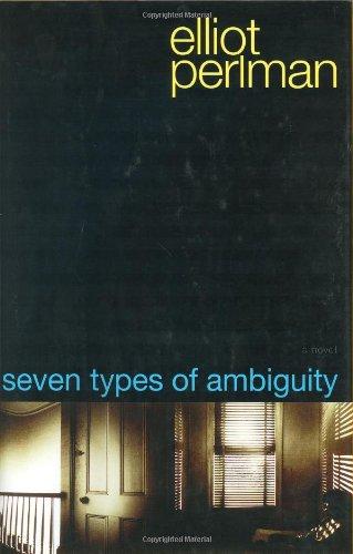 Seven Types of Ambiguity: Perlman, Elliot
