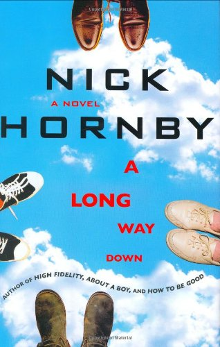 2 book lot: A Long Way Down: Hornby, Nick