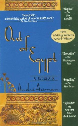 9781573225342: Out of Egypt: A Memoir