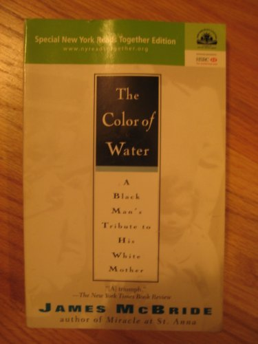 9781573229975: The color of water: A black man's tribute to his white mother