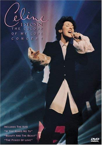 9781573300421: Celine Dion - The Colour of My Love Concert [Import USA Zone 1]