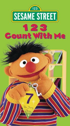 9781573305679: Sesame Street - 123 Count With Me [VHS]