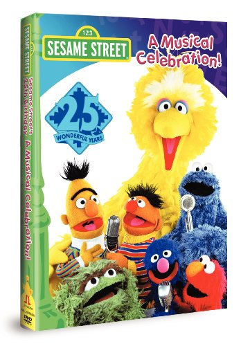 9781573305693: Sesame Street 25th Birthday - Musical Celebration
