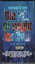 9781573306652: Message to Love - The Isle of Wight Festival [VHS]