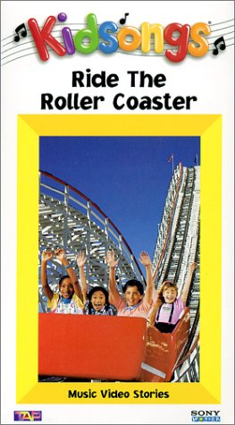 9781573307482: Kidsongs:Ride the Roller Coaster [VHS]