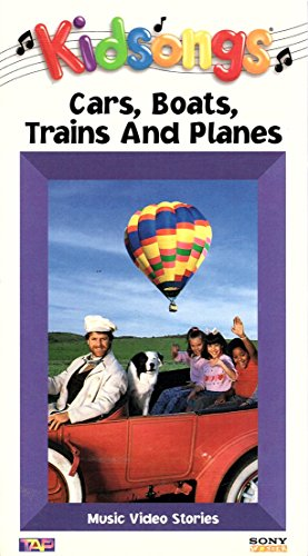 9781573309011: Kidsongs: Cars, Boats, Trains & Planes
