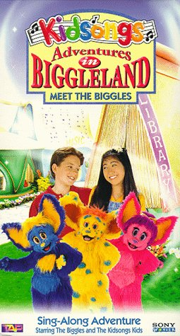 9781573309295: Kidsongs: Adventures in Biggleland - Meet the Biggles