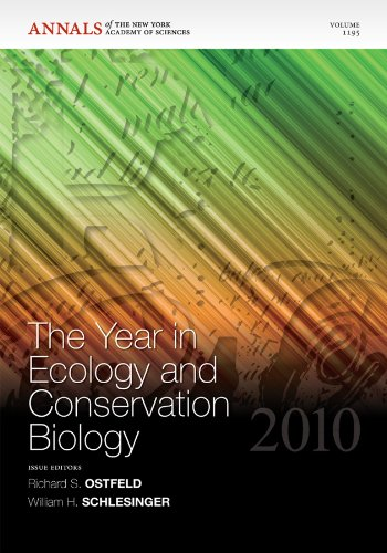 The Year in Ecology and Conservation Biology 2010 (Annals of the New York Academy of Sciences, ...