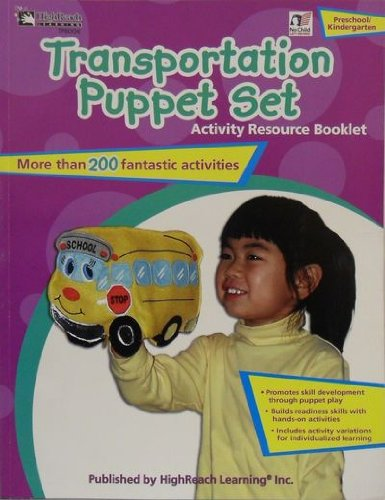 9781573324014: Transportation Puppet Set. Pre - K. Activity Resource Booklet.