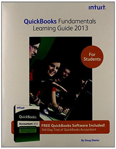 9781573381161: Title: 2013 QuickBooks Fund Learning Guide