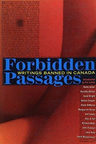 9781573440196: Forbidden Passages: Writings Banned in Canada