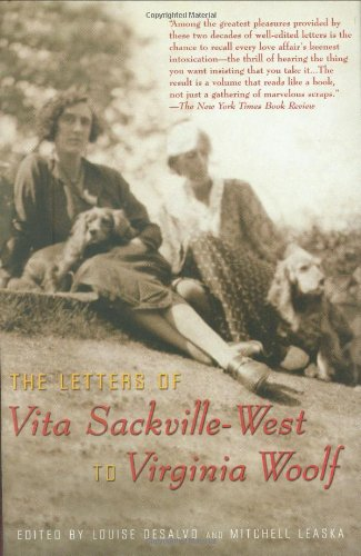 9781573441360: The Letters of Vita Sackville-West to Virginia Woolf