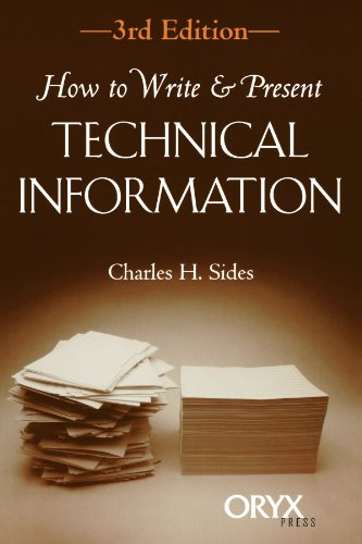 9781573561334: How to Write & Present Technical Information