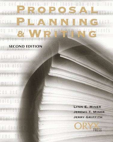 9781573561419: Proposal Planning and Writing (2nd Edition)