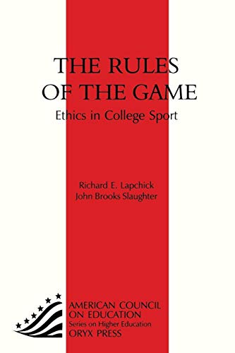 9781573562621: Rules of the Game: Ethics in College Sport